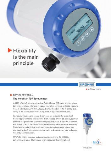 OPTIFLEX 2200