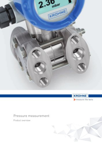 Pressure Product Overview