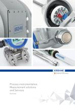 Process instrumentation, Measurement solutions and Services