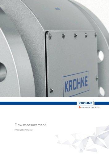 Product Overview Flow Measurement