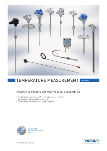 Temperature Catalogue