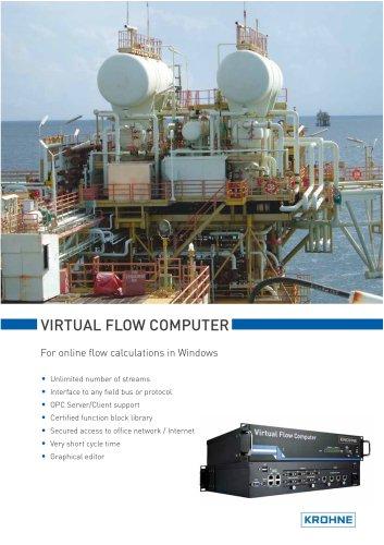 Virtual flow computer