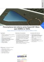 Broadband EMC Test Antenna series HyperLOG® 60xxx (680MHz-18GHz)