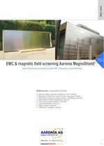 EMC magnetic panel-shielding