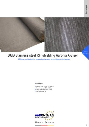 Military Shielding material