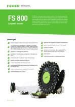 FS 800 longwall shearer