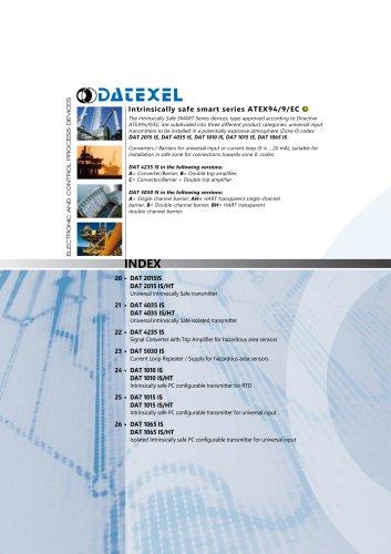 Datexel CATALOGO SMART ATEX SERIES_ING
