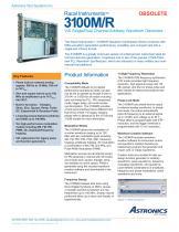 3100M, VXI Single/Dual Channel Arbitrary Waveform Generator - 1