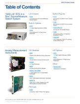 COTS Product Guide December, 2011 - 4
