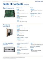 COTS Product Guide December, 2011 - 7