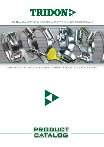 TRIDON Europe Clamps Product Catalog