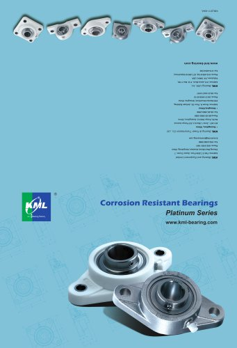 Corrosion Resistant Bearings