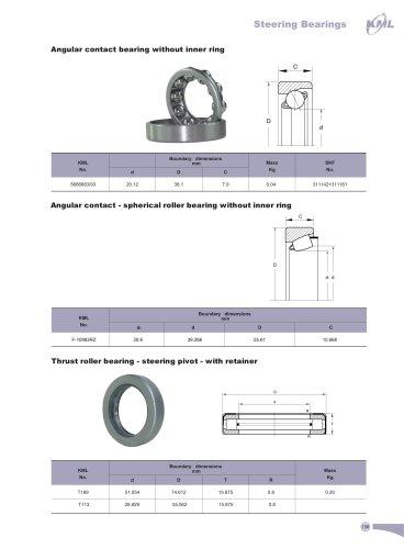Steering Bearings
