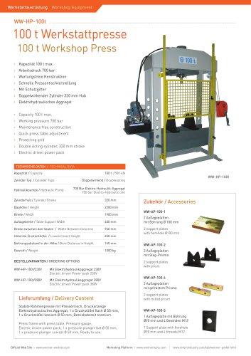 100 t Workshop Press