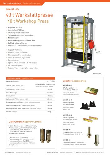 40 t Workshop Press