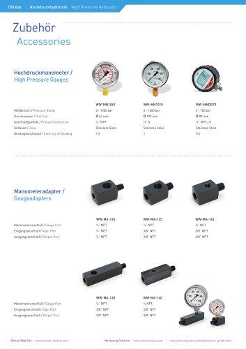 Accessories - Hydraulic