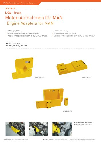Engine Adapters for MAN