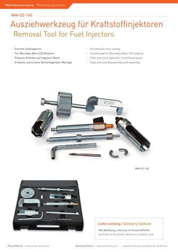 Removal Tool for Fuel Injectors - 1