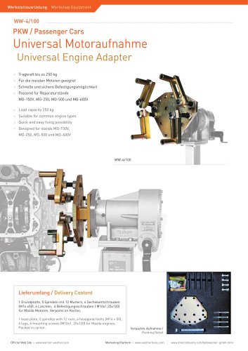 Universal Engine Adapter - 1