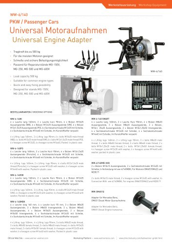 Universal Engine Adapter - 2