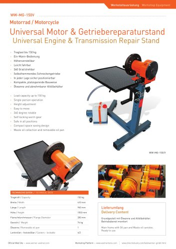 Universal Engine & Transmission Repair Stand - 3