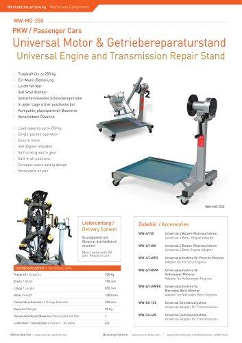 Universal Engine & Transmission Repair Stand - 4