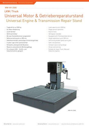 ww-HV-2500 Heavy Vehicle Engine Repair Stand