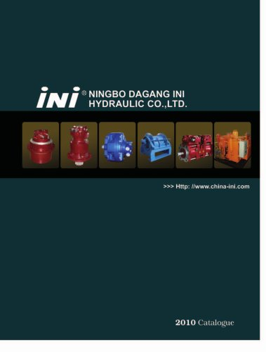 INM series low speed high torque hydraulic motors