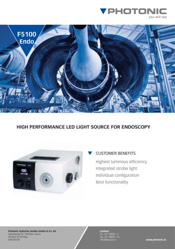 LED Light Source F5100Endo