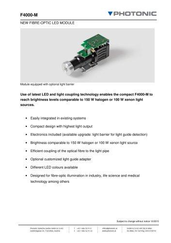 LED Modul F4000-M