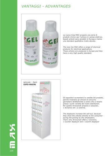 MAX  Chemical products