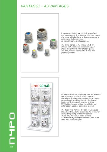 NYPO  Cable glands and accessories