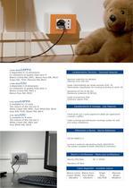 PVC wall minitrunking system