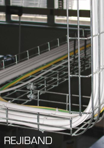 REJIBAND Cable mesh trays of steel
