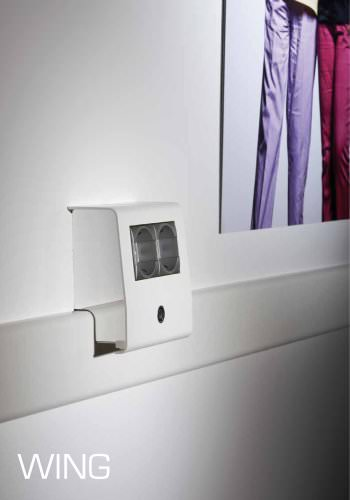 WING PVC wall and skirting trunking system