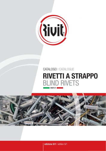 Blind rivets catalogue 8/1