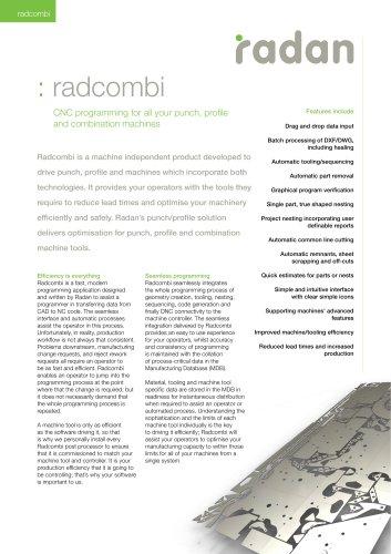 RADAN Radcombi