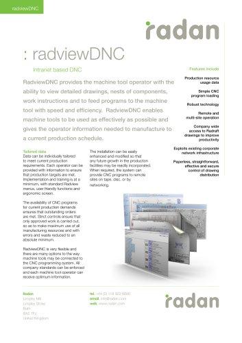 RADAN Radview DNC