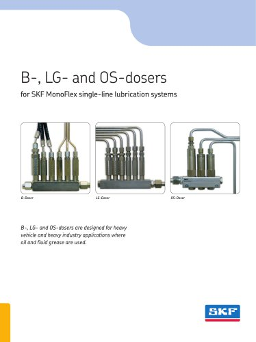 B-, LG- and OS-dosers