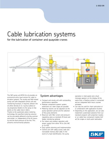 Cable lubrication systems