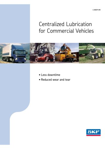 Centralized Lubrication for Commercial Vehicles