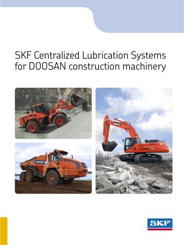 Centralized lubrication systems for DOOSAN construction machinery