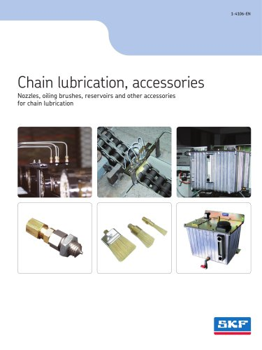 Chain lubrication, accessories