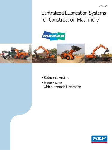 DOOZAN Centralized Lubrication Systems for Construction Machinery