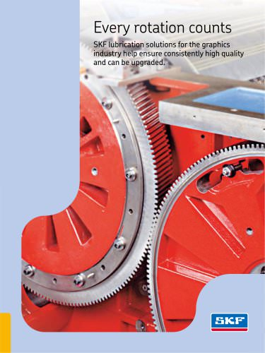 Every rotation counts - SKF Lubrication solutions for the graphics industry