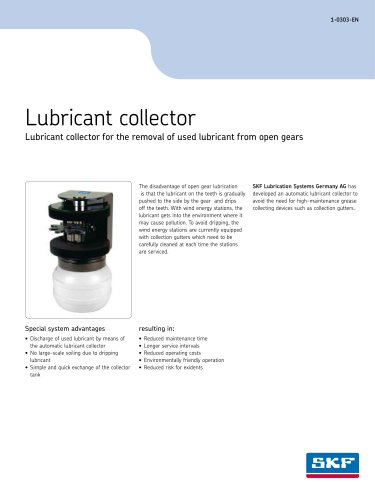 Lubricant collector