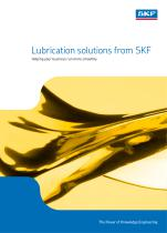 Lubrication Solutions from SKF