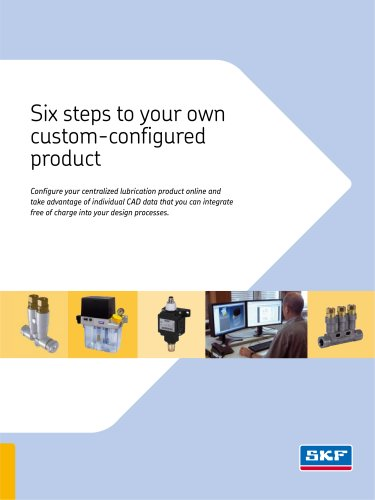 Six steps to your own custom-configured product