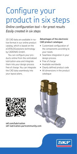Six steps to your own custom-configured product (CADENAS) (Card 1/3 A4)