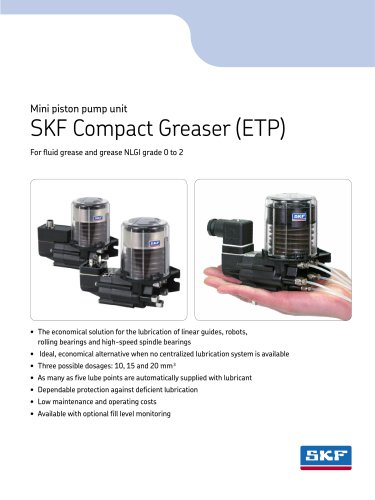 SKF Compact Greaser